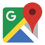 Illustration : Logo de l'application Google Maps