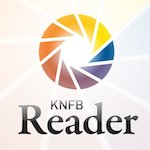 Illustration : Logo de l'application KNFB Reader