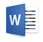 Illustration : Logo Microsoft Word